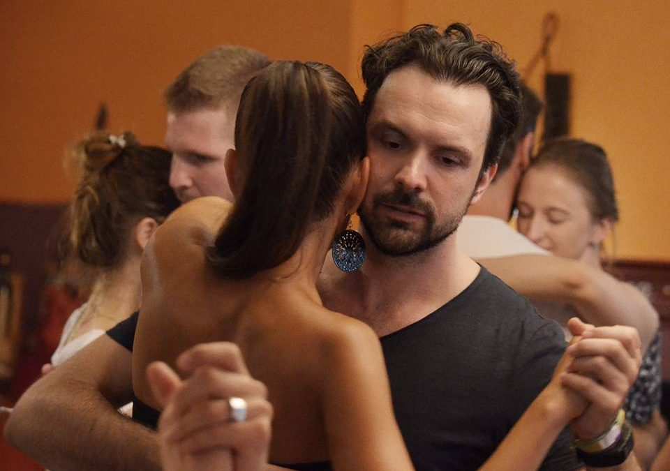 Dancing Argentine tango